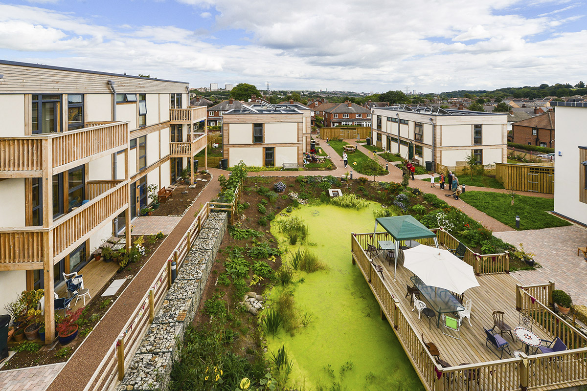 Access to green spaces is important (photo: Simon Dewhurst Photography)