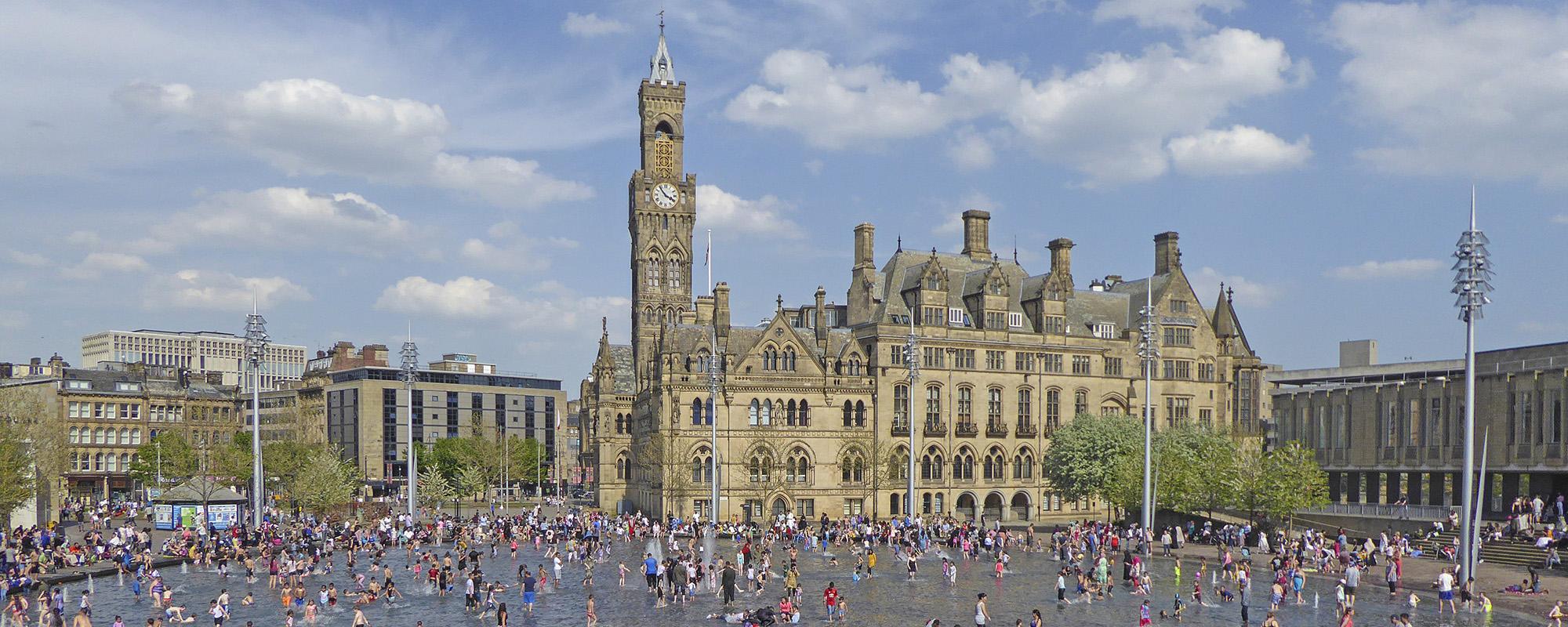 Bradford's City Park (photo: Tim Green)