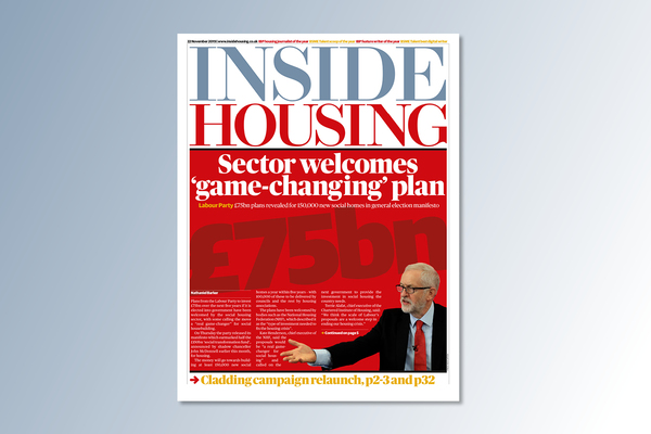 22 November digital edition of Inside Housing out now
