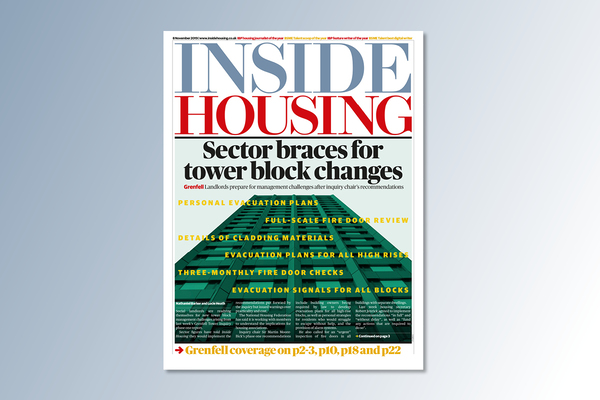 8 November digital edition of Inside Housing out now