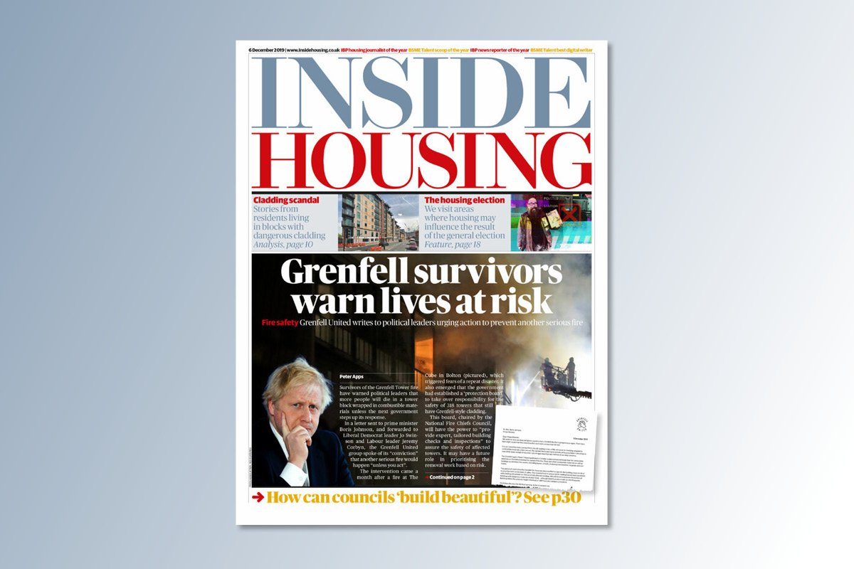 6 December digital edition of Inside Housing out now