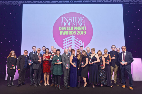 Inside Housing Development Awards 2019 winners announced