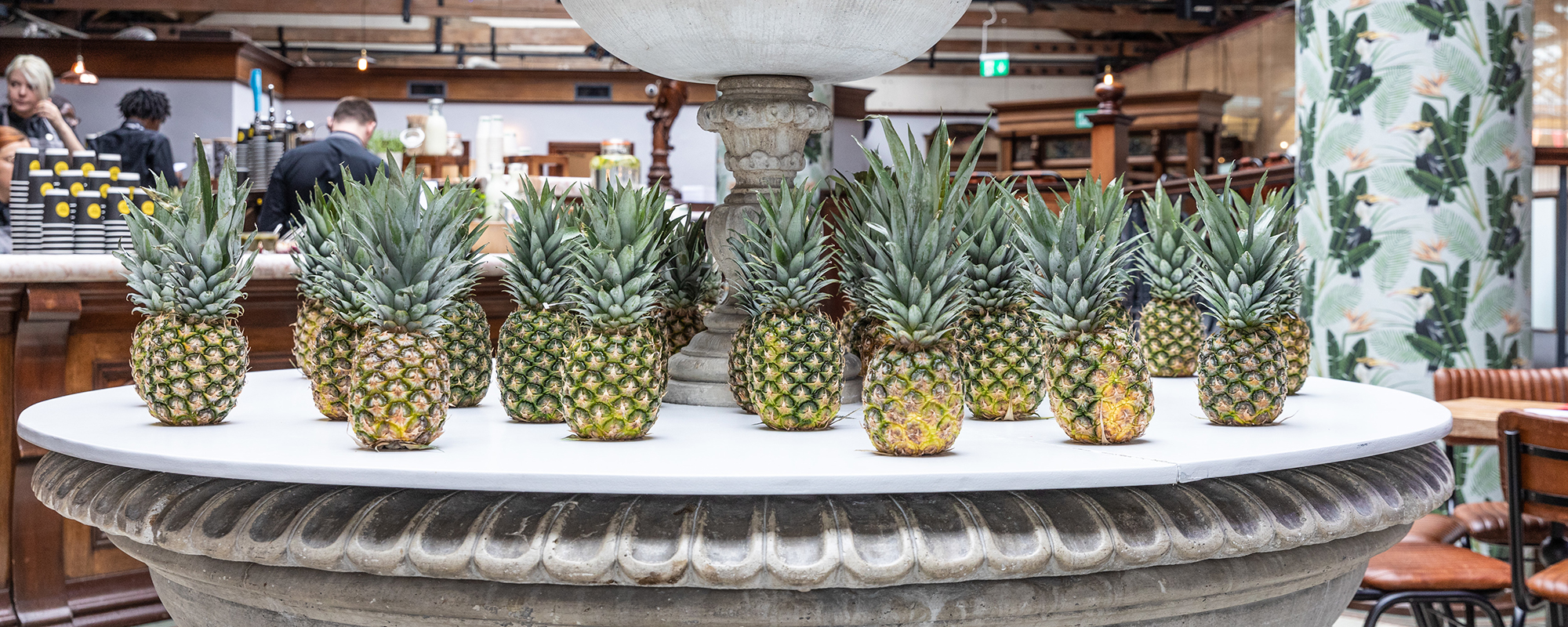 The Pineapples awards take place at Tobacco Dock, East London