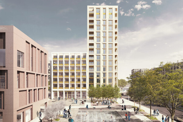London borough to buy almost 300 homes from association on regeneration site