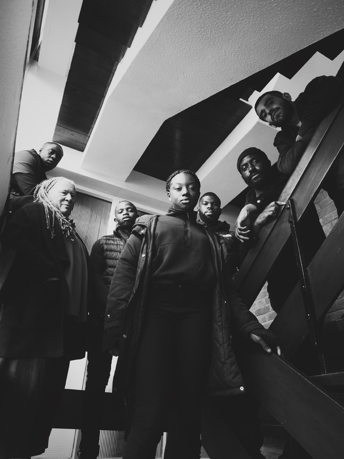 Authors of the Estate at Chalkhill. Photo: Abdou Cisse