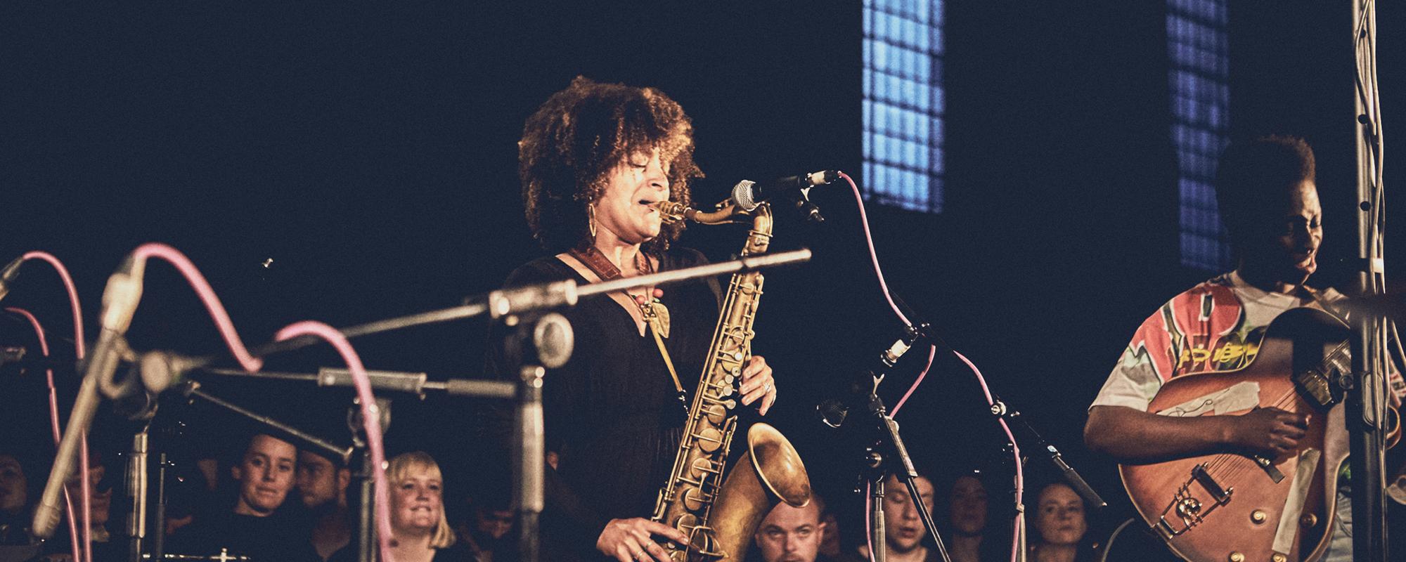 Maisha at the Church of Sound. Photo by Joe Hart