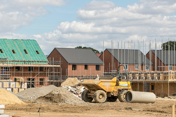 Housing association committed development forecasts down by 43% as unsold units increase