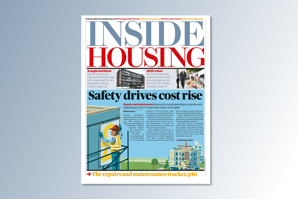 17 January digital edition of Inside Housing out now