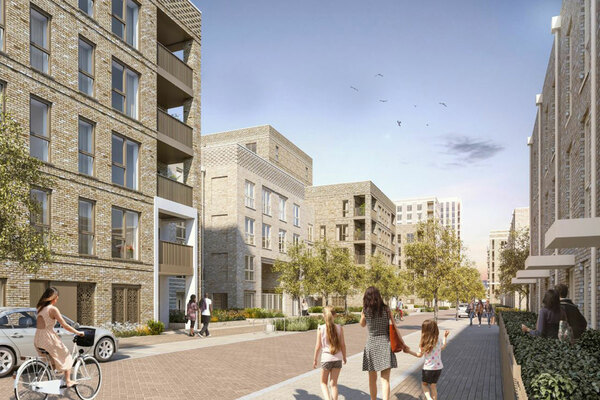 Housing association gets green light for 717-home scheme in east London