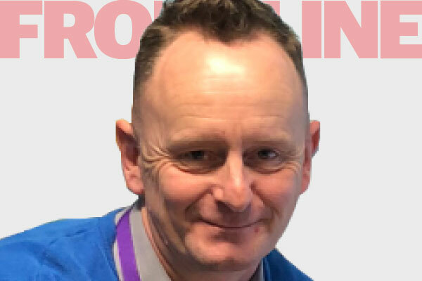 From the frontline – income services officer Graham Dean