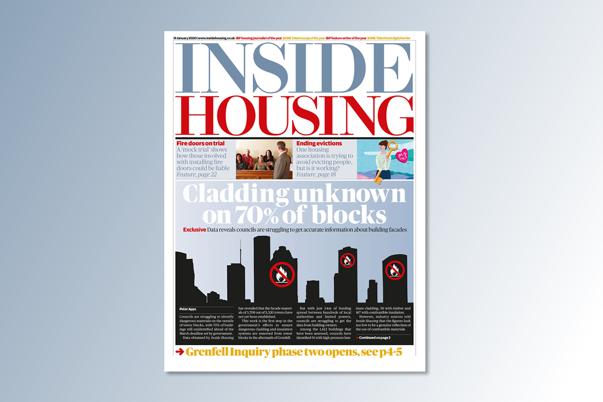 31 January digital edition of Inside Housing out now