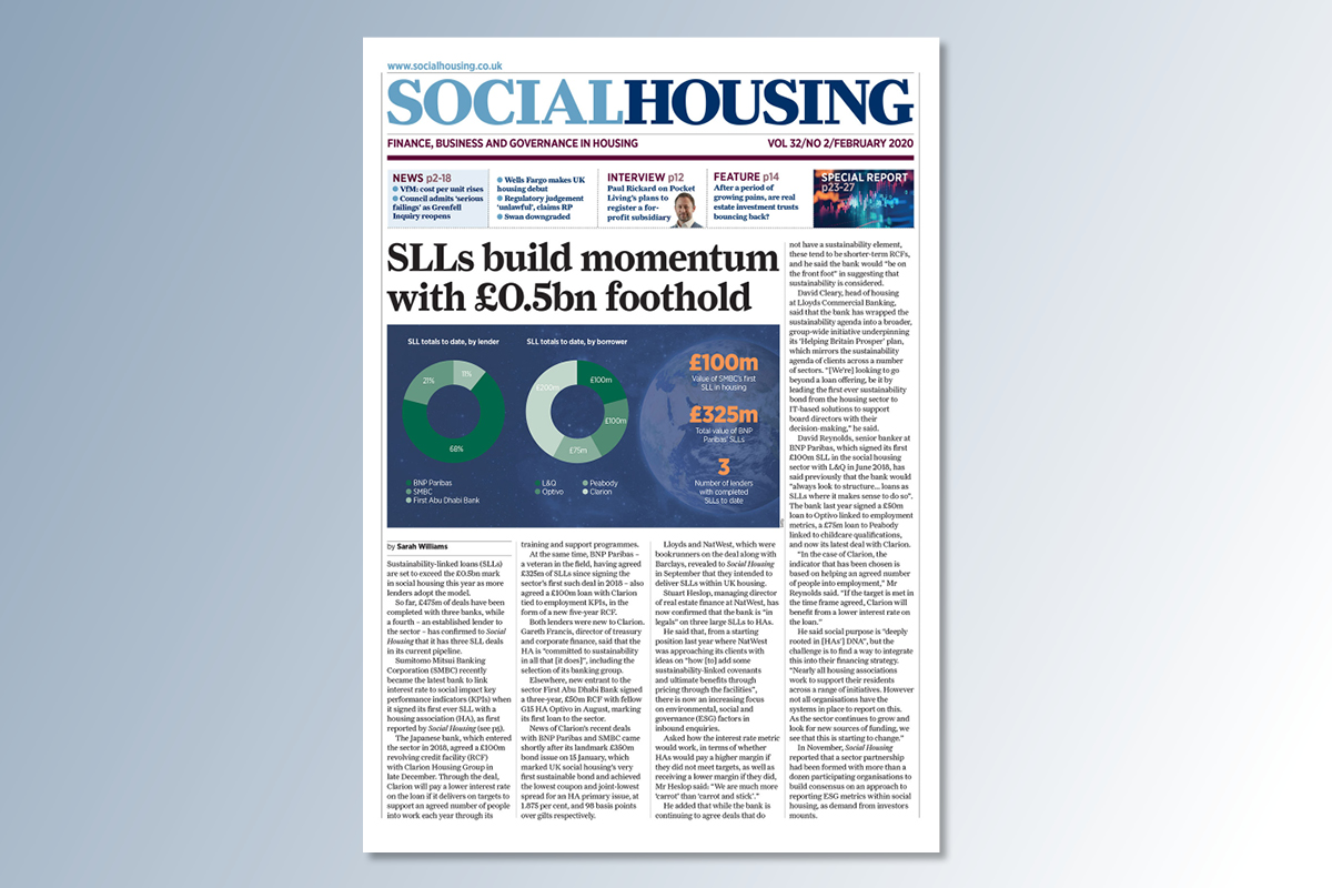 February digital edition of Social Housing out now