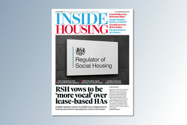 6 March digital edition of Inside Housing out now