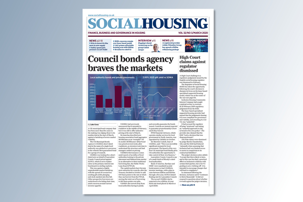 March digital edition of Social Housing out now