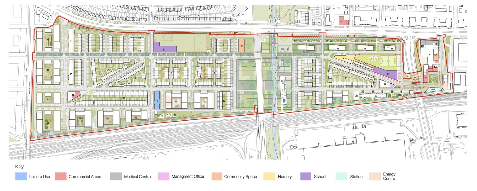 Beam Park proposals include 3,000 homes, a rail station and two primary schools