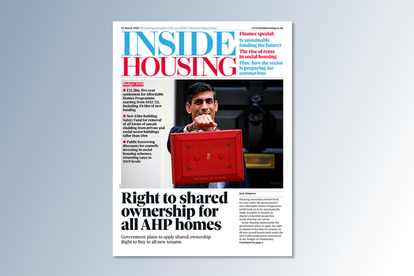13 March digital edition of Inside Housing out now
