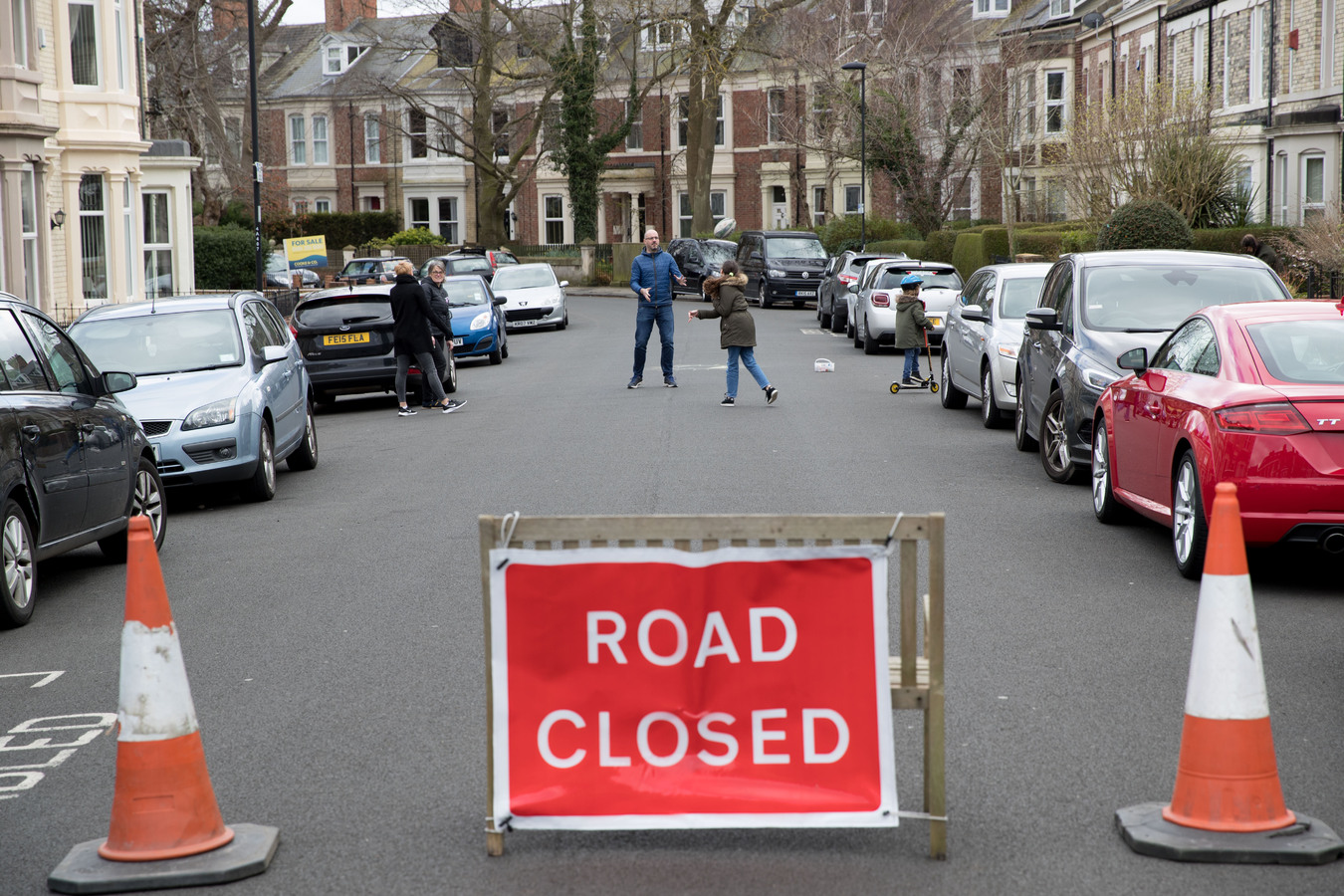 Road closures are part of the activism embedded in the Playing Out movement
