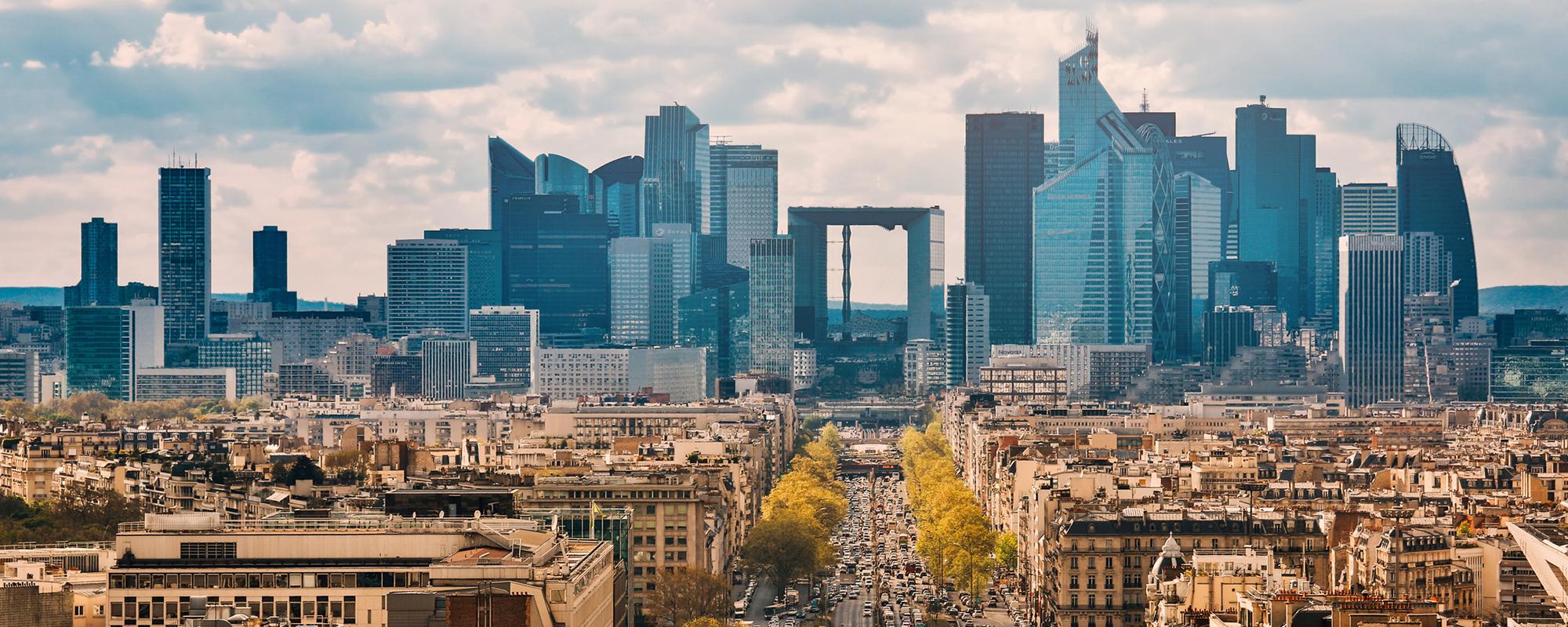 La Defense in Paris. Getty Images