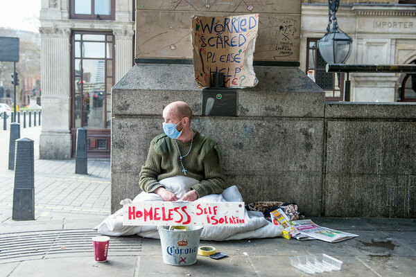 Why are hundreds of people still sleeping rough during the coronavirus pandemic?