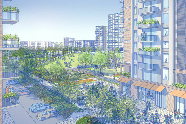 GLA approves new masterplan for Barnet regeneration site, two years after rejecting plan