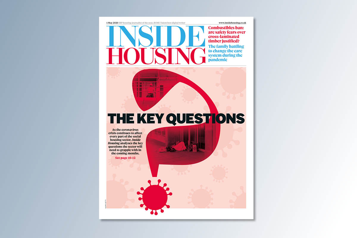 1 May digital edition of Inside Housing out now