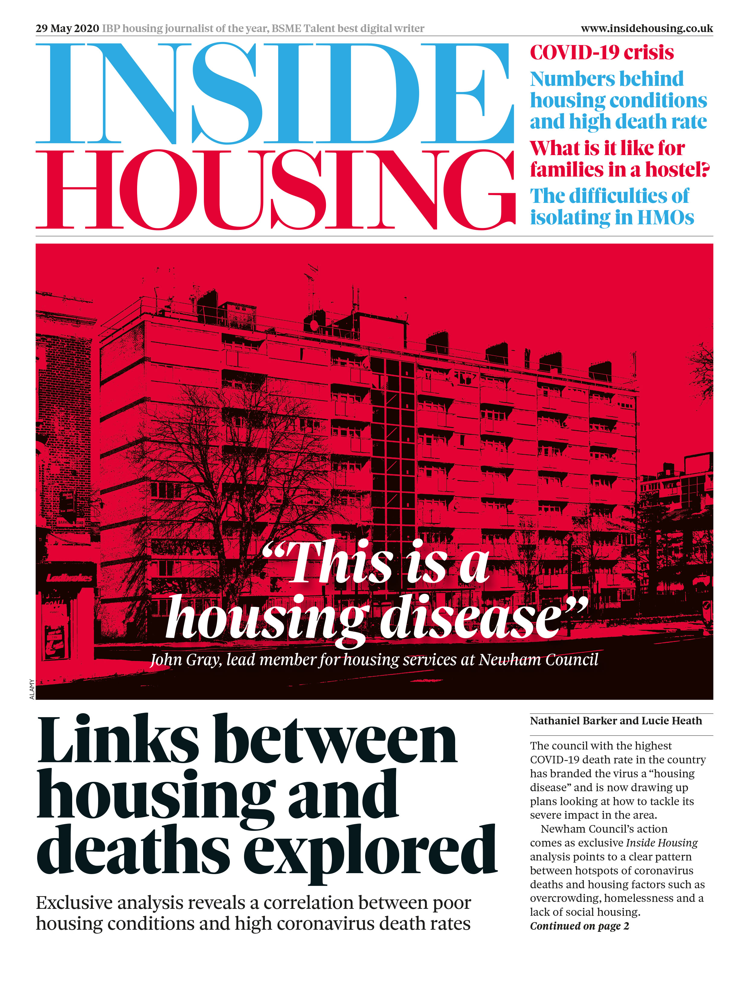 Inside Housing Digital Edition – 29 May 2020