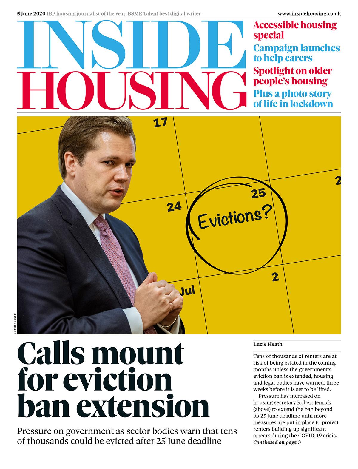 Inside Housing Digital Edition – 5 June 2020