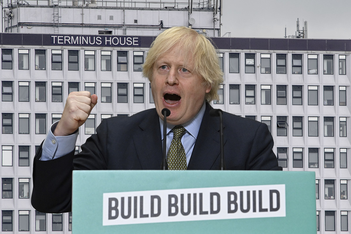 Warnings over quality and affordable housing cuts as Johnson unveils 'Project Speed' plan
