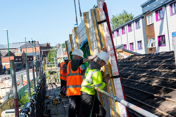 Cost of retrofitting all social homes in the UK to zero carbon to top £100bn, exclusive research reveals