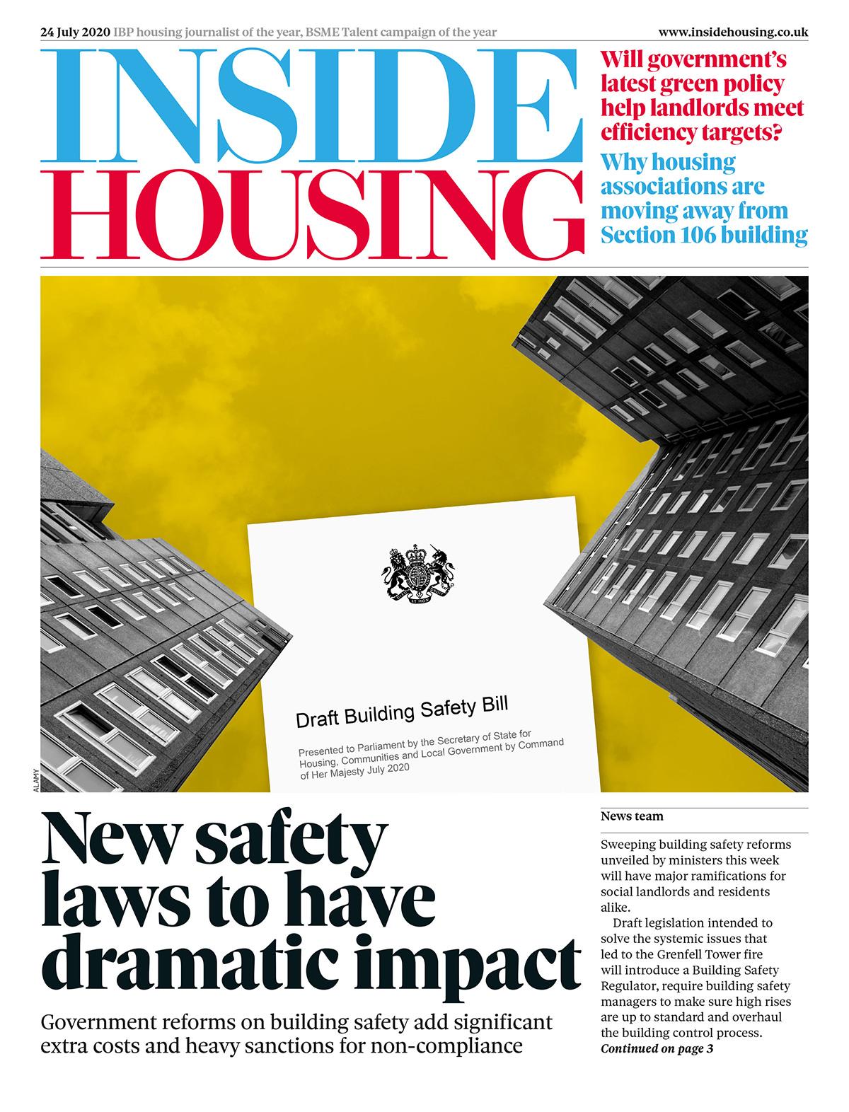 Inside Housing Digital Edition – 24 July 2020