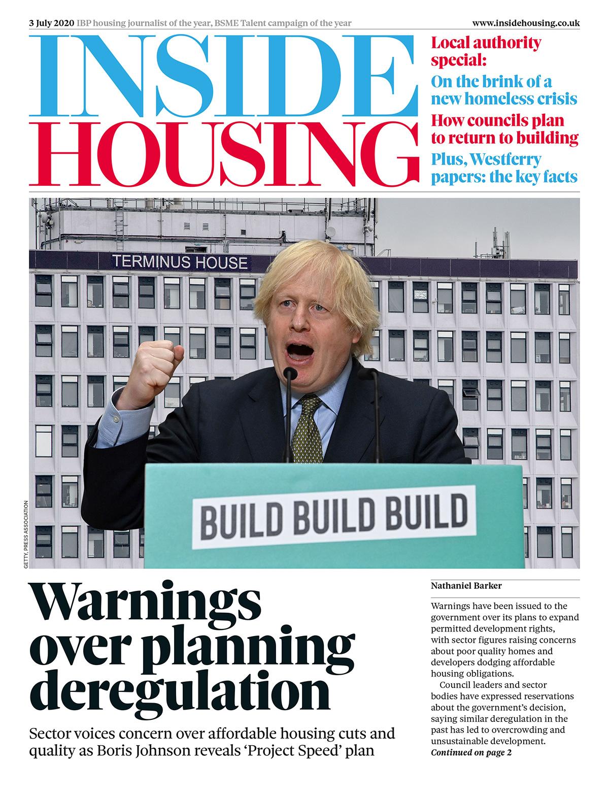 Inside Housing Digital Edition – 3 July 2020