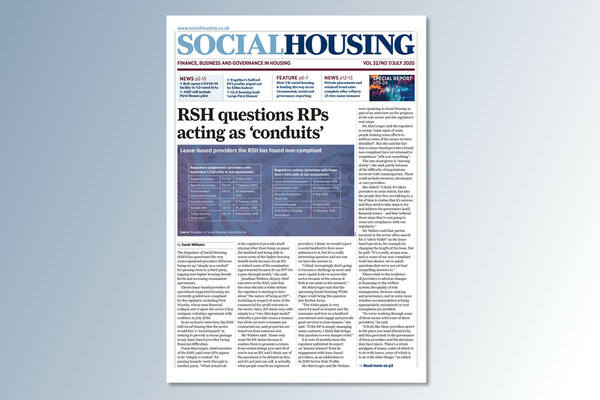 July digital edition of Social Housing out now