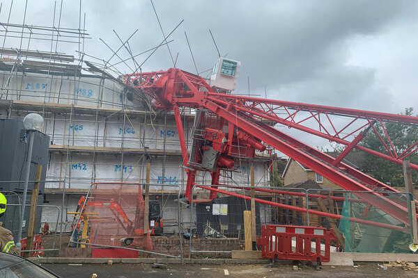 One killed and four injured after crane collapse at Swan development site