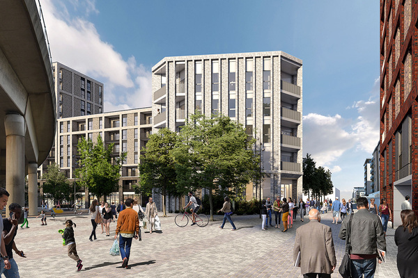Housing association partners with Vistry Partnerships on large regeneration scheme