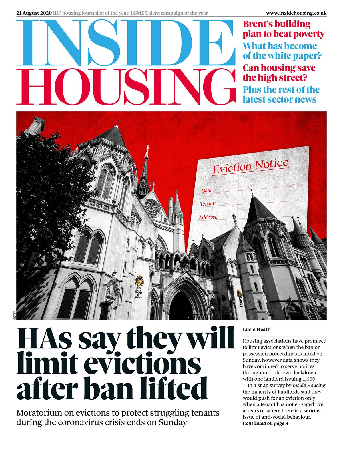 Inside Housing Digital Edition – 21 August 2020