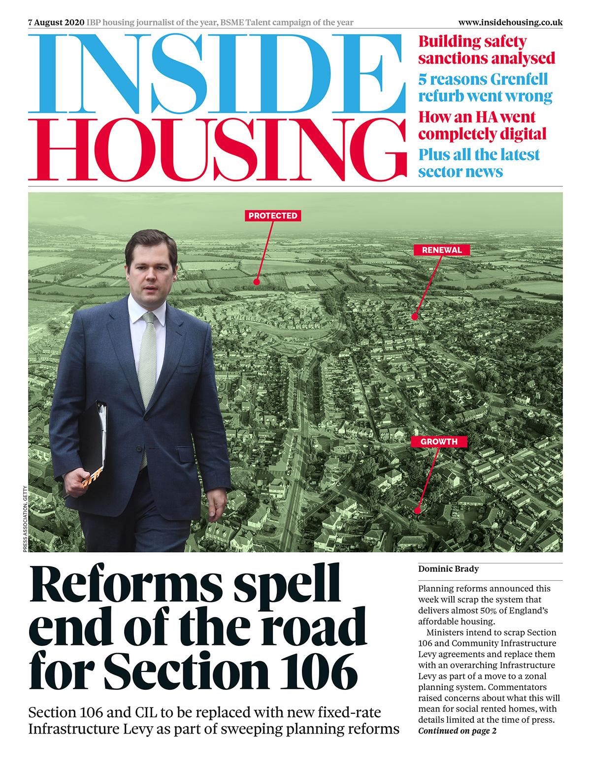 Inside Housing Digital Edition – 7 August 2020