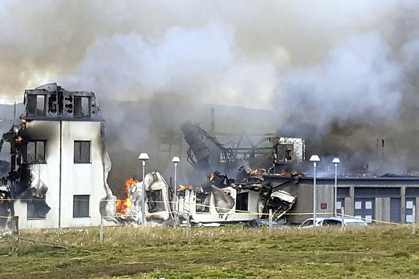Hotel destroyed in fire was constructed offsite using insulated panels, documents show