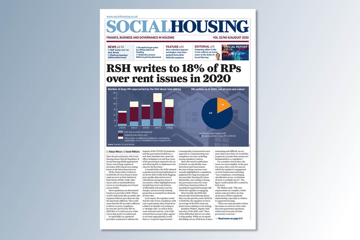 August digital edition of Social Housing out now