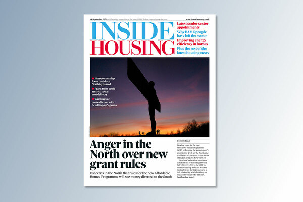 18 September digital edition of Inside Housing out now