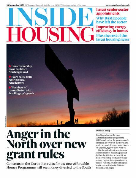 Inside Housing Digital Edition – 18 September 2020