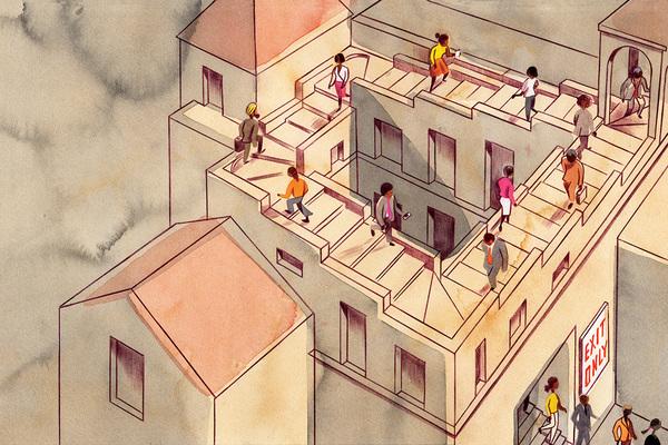 The housing brain drain