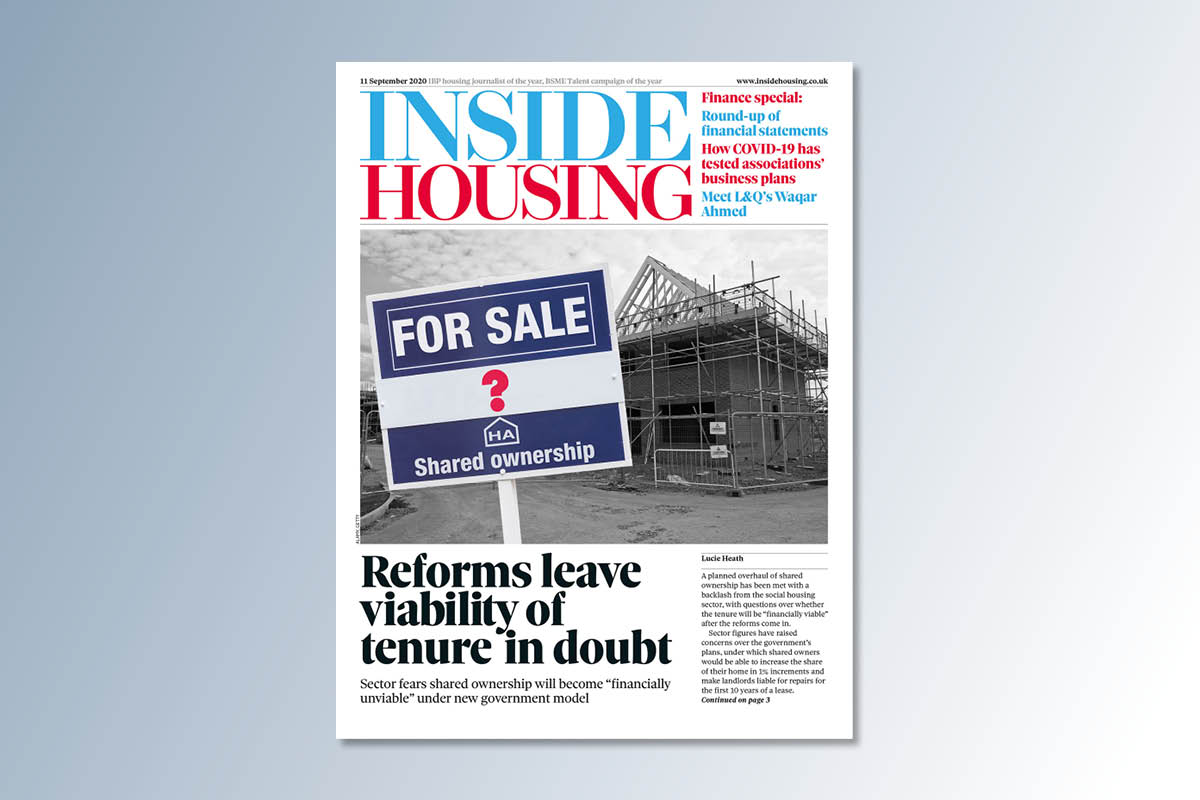 11 September digital edition of Inside Housing out now