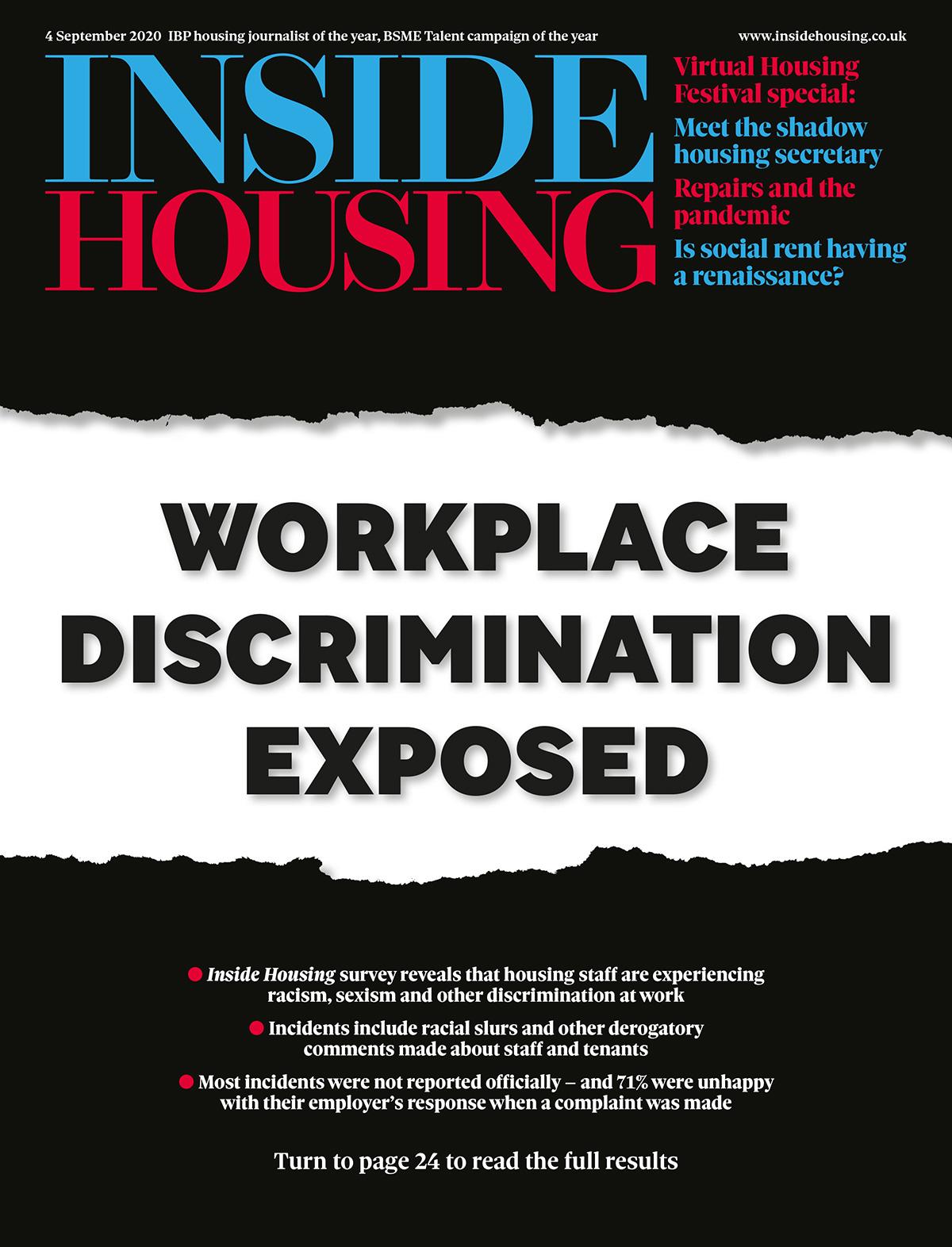 Inside Housing Digital Edition – 4 September 2020