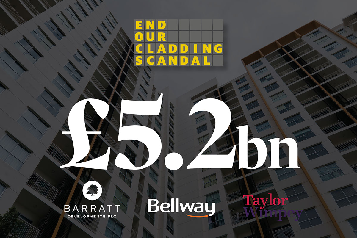 Developers make £5.2bn profits while leaseholders face bill for fire safety repairs, analysis reveals