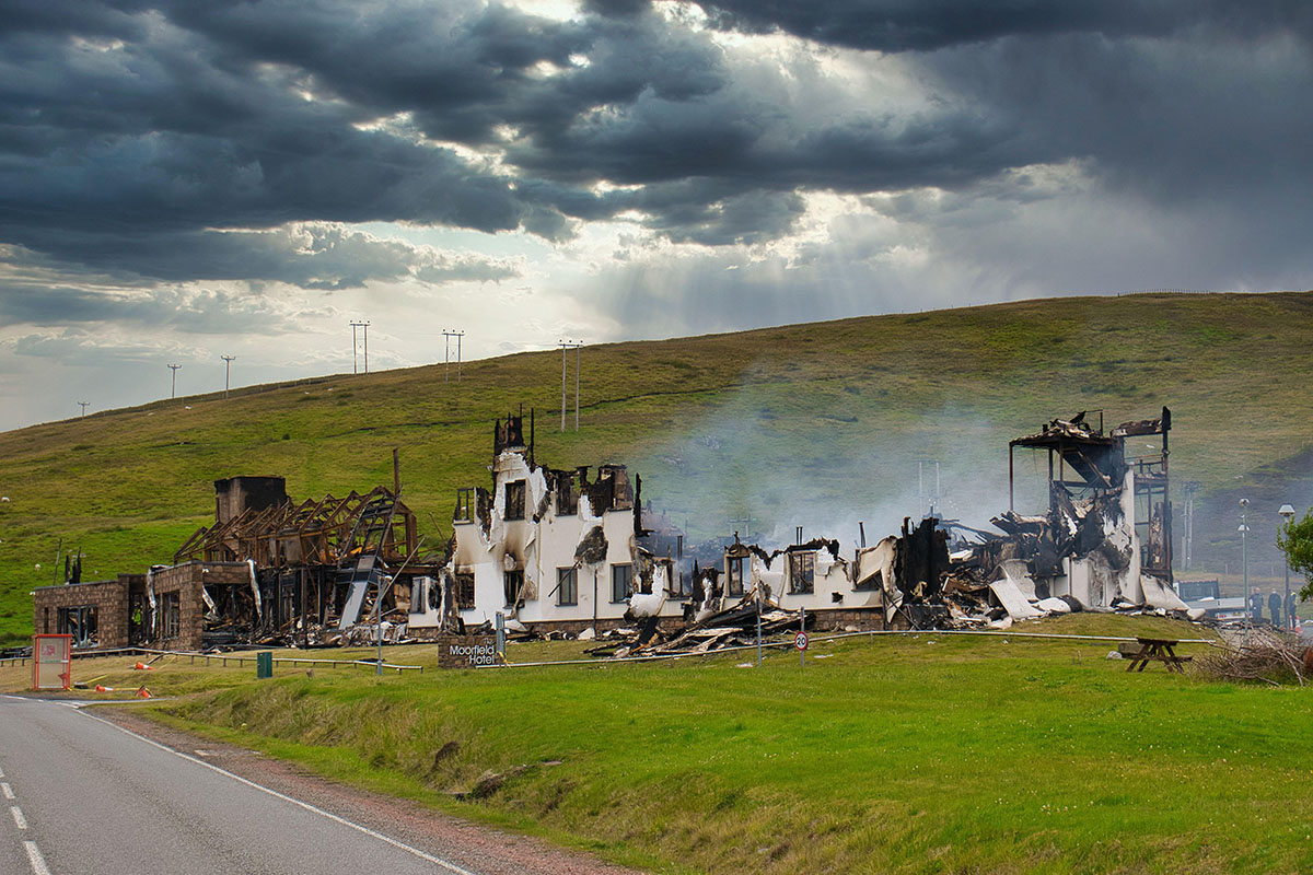 Are two fires on the Shetland Islands a canary in the coal mine for modular construction?