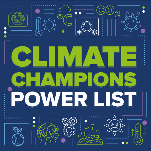 Climate Champions Power List