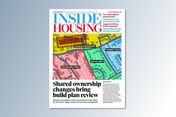 25 September digital edition of Inside Housing out now