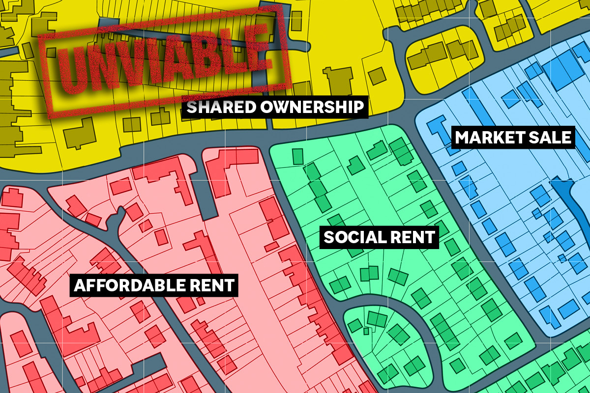 Landlords forced to review development plans in preparation for new shared ownership model