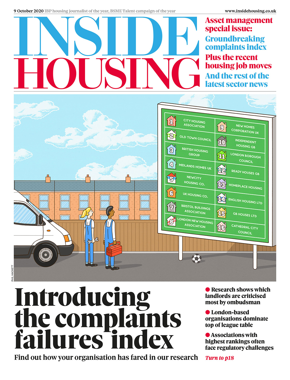 Inside Housing Digital Edition – 9 October 2020