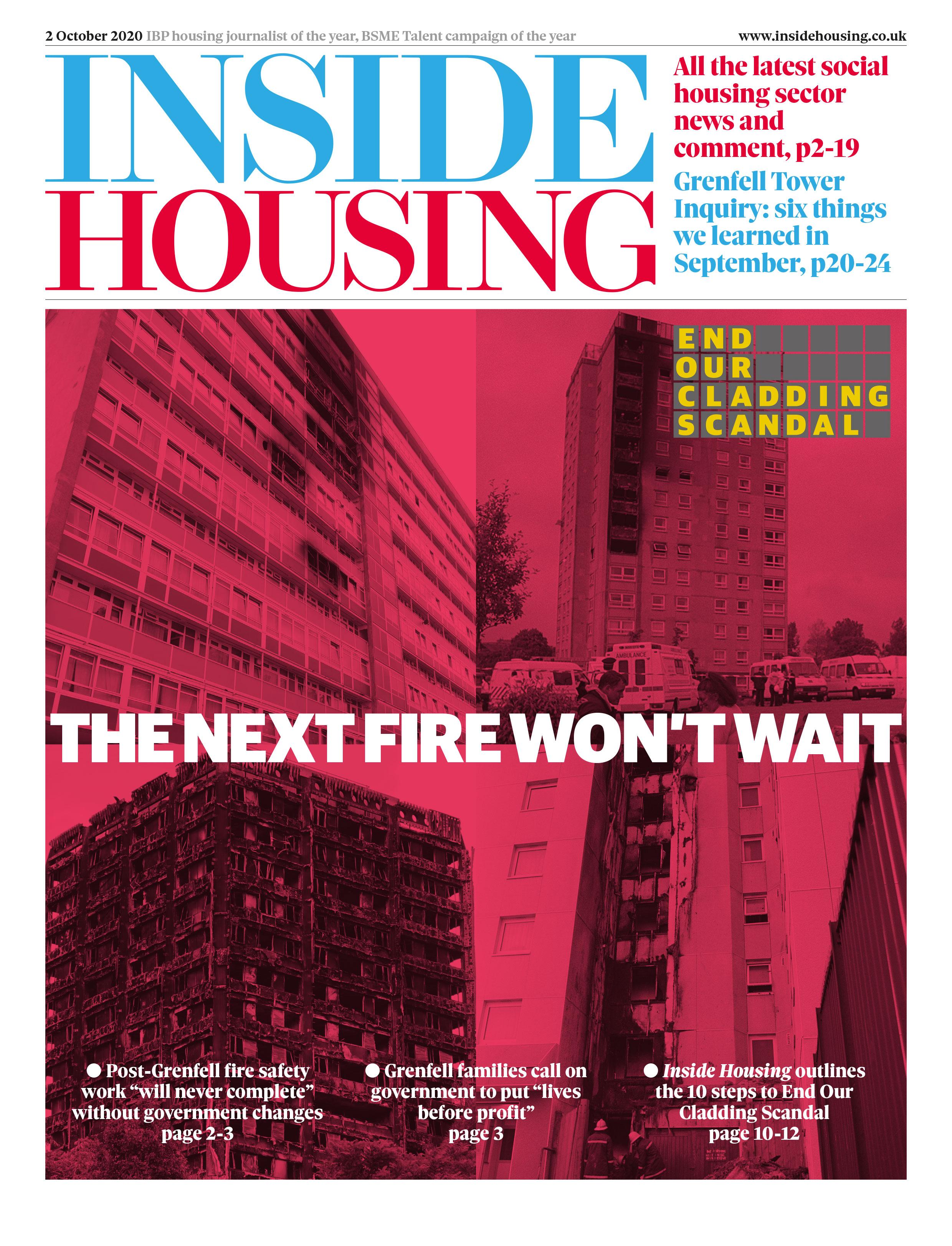 Inside Housing Digital Edition – 2 October 2020